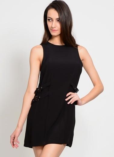 Neon Rose Neon Rose Siyah Kadın Elbise Siyah